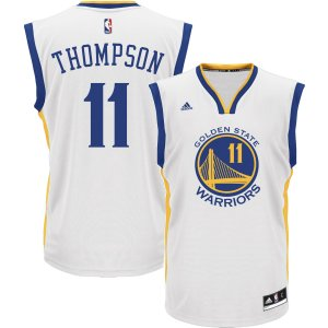 adidas Men's Golden State Warriors Klay Thompson #11 Home White Replica Jersey| DICK'S Sporting Goods