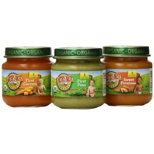 Earth's Best Organic Stage 1, My First Veggies Variety Pack, 12 Count, 2.5 Ounce Jars