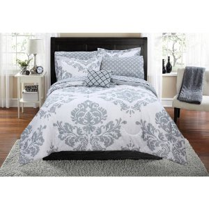 Mainstays Classic Noir Bed In A Bag Bedding Set - Walmart.com