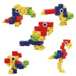 Click-A-Brick Toys Feather Friends 30pc - Building Block Set