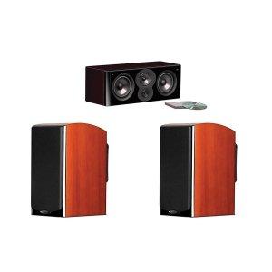 $949.99(原价$2249.85)免税包邮,Polk LSI M 超值音箱套装: M704C中置音箱 + 2x M703书架音箱