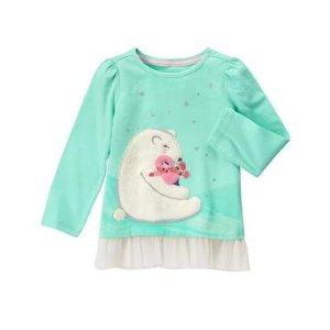 Toddler Girls Sweet Mint Polar Hug Tee by Gymboree