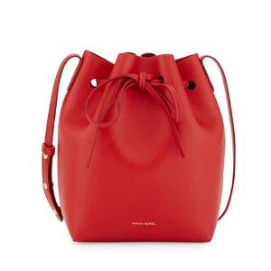 Mansur Gavriel Calf Leather Bucket Bag