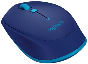 Logitech M535 Compact Bluetooth Mouse, Blue