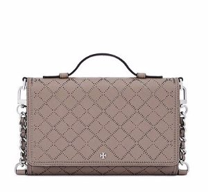 ROBINSON CROSSHATCH MINI CROSS-BODY @ Tory Burch