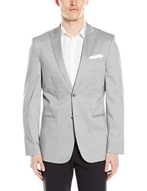 $26.87 Calvin Klein Men's Slim Cotton Tech Sportcoat