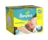 Amazon.com: Pampers Swaddlers Diapers Size 1 Economy Pack Plus, 216 Count (Packaging May Vary): Health & Personal Care