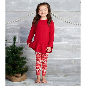Kids Thermal Dress & Legging Set