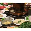 Asian-Fusion HotPot Meal with Drinks for Two or Four at Private Party Restaurant