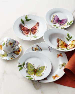 $83.2 20-Piece Butterfly Dinnerware Service @ Neiman Marcus