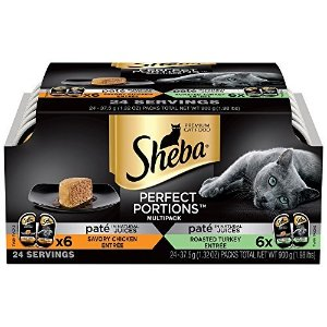 SHEBA Perfect Portions Wet Cat Food Trays