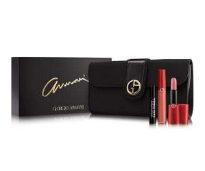 $75 Giorgio Armani Beauty Lip Holiday Set @ Neiman Marcus