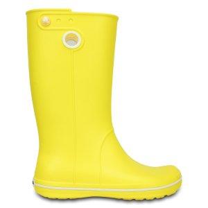 Crocs Lemon Crocband™ Jaunt Rain Boot - Women | zulily