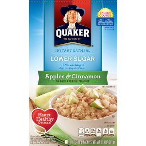 $11.52 8-Pack of 10-Count Quaker Instant Oatmeal (Various Flavors)