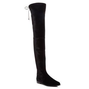 Stuart Weitzman Leggylady Velvet Over The Knee Boots   Bloomingdale's