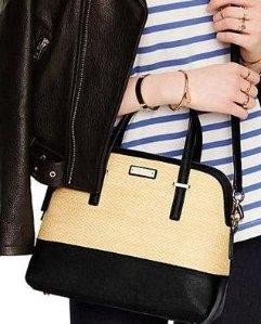 Kate Spade New York Cedar Street Straw Maise Bag