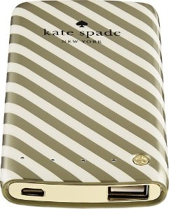 kate spade new york - Portable Backup Lithium-Polymer Battery for Select Cell Phones