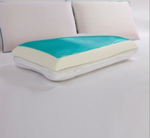Sealy Memory Foam 3-in-1 Reversible Gel Pillow