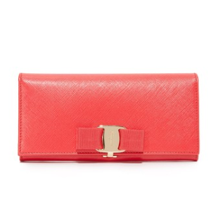 Salvatore Ferragamo Miss Vara Bow Wallet | SHOPBOP SAVE UP TO 25% Use Code: GOBIG16