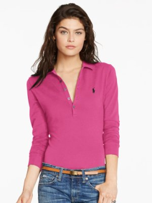 Up to 60% Off + Extra 30% Off Women's Polo Shirt Sale @ Ralph Lauren