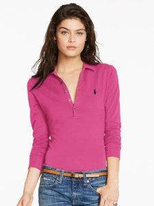 Up to 60% Off + Extra 30% Off Women's Polo Shirt Sale @ Ralph Lauren