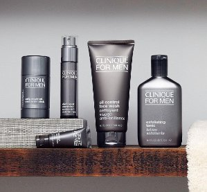 25% Off + GWP with any Clinique Men's purchase