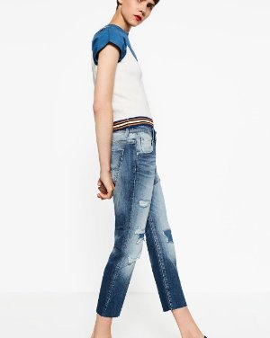 Up to 50% Off Select Women's Jeans Sale @ Zara