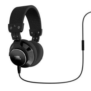 JBL Harman Kardon Bassline DJ Style High Performance Ear Headphones w Inline Mic