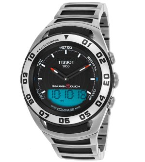 Dealmoon Exclusive! $409 (reg. $1195) TISSOT Sailing Touch Chronograph Men's Watch