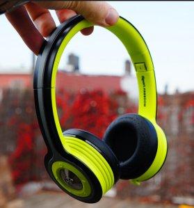 $144.14(reg.$187.5) Monster iSport Freedom Wireless Bluetooth On-Ear Headphones - Green