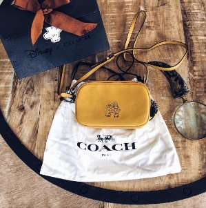 Disney x Coach collectionMICKEY Crossbody Clutch @ Coach