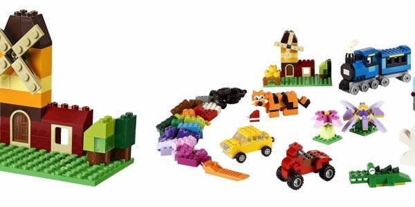 积木拼小车的步骤图