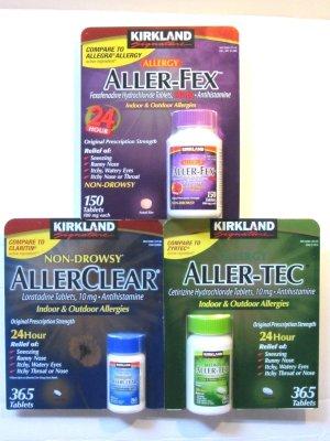 from $9.49Kirkland Signature Allergy Medicine Sale