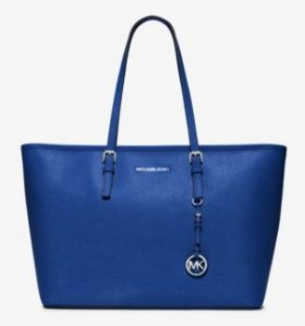 From $128.25 MICHAEL MICHAEL KORS Jet Set Travel Small Saffiano Leather Tote @ Michael Kors