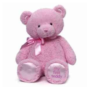 From $15.99 Gund My First Teddy Bear Baby Stuffed Animal, 18 inches