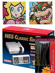 $129.99 Nintendo NES Classic Collectible Edition Bundle