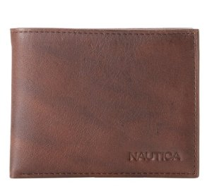 Nautica Men's Pennant Passcase, Brown