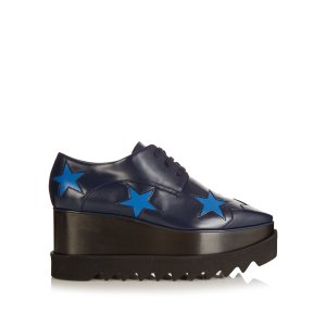 Elyse lace-up platform shoes | Stella McCartney