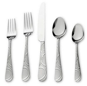 $39.99 International Silver 67-Pc. Garland Frost Flatware & Hostess Set