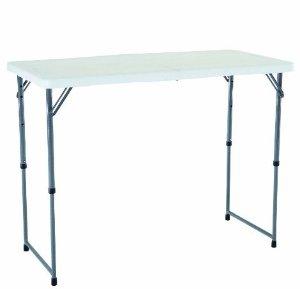 #1 Seller!$30.92 Lifetime 4428 Height Adjustable Folding Utility Table