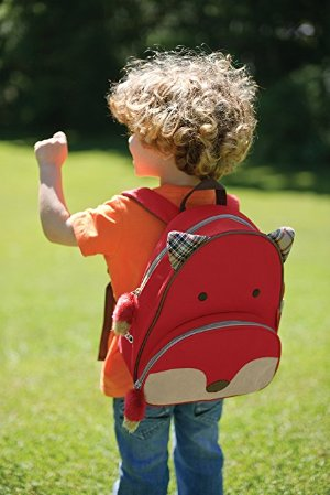 Skip Hop Zoo Little Kid & Toddler Backpack, Ferguson Fox