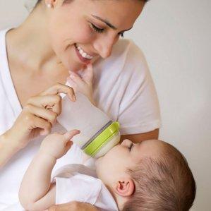 Comotomo Baby Bottle, 8 Ounce, 2 Count @ Amazon