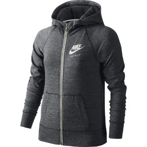 Nike Girls' Gym Vintage Full-Zip Hoodie | Academy