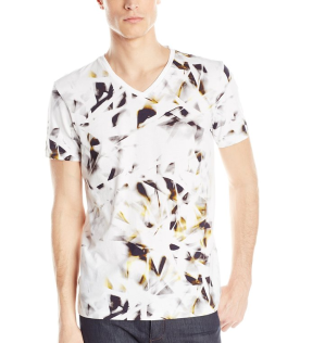 $15.53 Calvin Klein Men's Short Sleeve All Over Printed