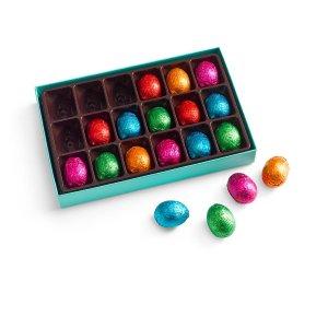 Chocolate Eggs Gift Box, Individually Wrapped, 18 pc. | GODIVA
