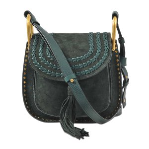 Hudson Small Shoulder Bag Chloé Black - Monnier Frères