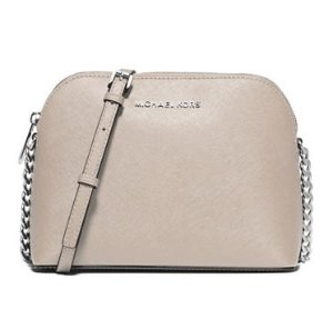 50% off + Extra 15% MICHAEL MICHAEL KORS Cindy Leather Dome Crossbody
