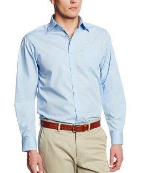 Lee Uniforms Men's Long Sleeve Dress Shirt
