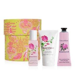 Rosewater Hatbox Gift Set