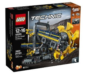 $187.99 LEGO Technic Bucket Wheel Excavator 42055